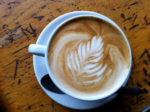 Latte from Dark Horse Espresso
