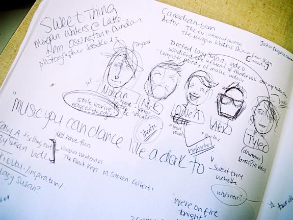 scribbles